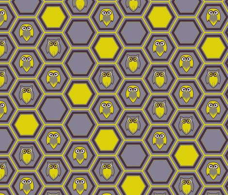 honeycombowl_DesignaPalette fabric by designapalette on Spoonflower - custom fabric