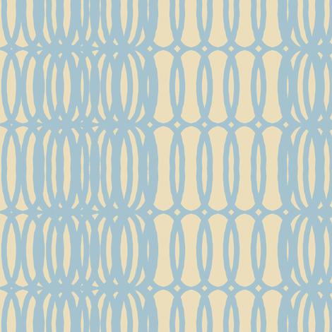 mod fab(smoky sky + cream) fabric by pattyryboltdesigns on Spoonflower - custom fabric