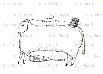 Stitching Sheep