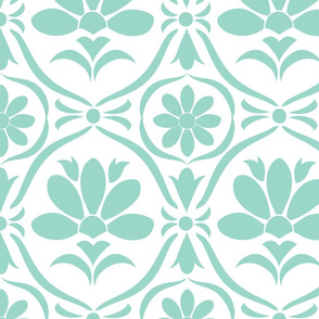 Tiffany Flower Damask