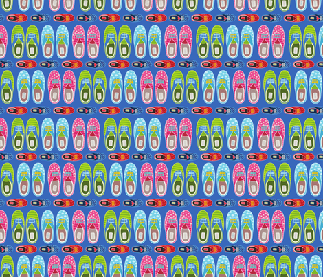 funny gumshoes fabric by kostolom3000 on Spoonflower - custom fabric