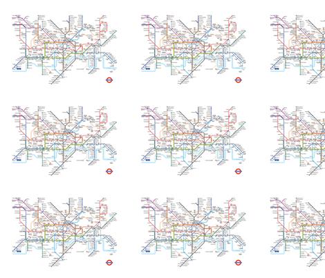 london underground tube map fabric by emma41 on Spoonflower - custom fabric