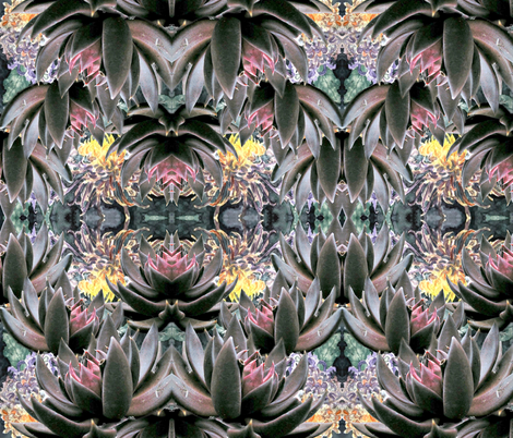 Desert Lotus fabric by whimzwhirled on Spoonflower - custom fabric