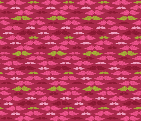 mustache pattern 4 fabric by kostolom3000 on Spoonflower - custom fabric