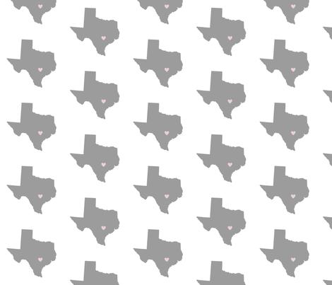 Cross Country {Texas} fabric by printablegirl on Spoonflower - custom fabric
