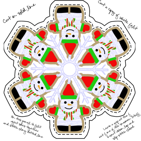 809877_rChristmas_Ornament fabric by suziwollman on Spoonflower - custom fabric