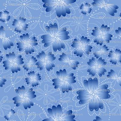 Azure Pearlblossoms