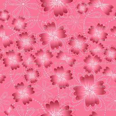 Crimson Pearlblossoms