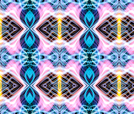 Neon_Pinstripes2_A_X fabric by k_shaynejacobson on Spoonflower - custom fabric
