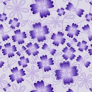 Lavender Pearlblossoms (lt.)