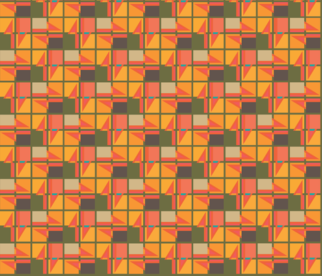 Geometric fabric by patterns_by_mimi on Spoonflower - custom fabric
