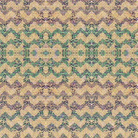 chevron knit - purple, green, peach, blue fabric by materialsgirl on Spoonflower - custom fabric