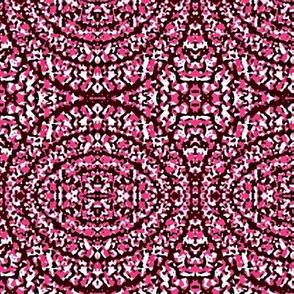 burgandy round rugs 2