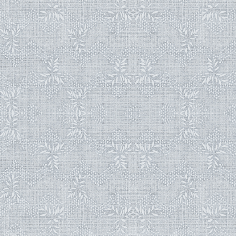 chevron garland - pale blue fabric by materialsgirl on Spoonflower - custom fabric