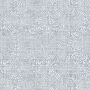 chevron garland - pale blue
