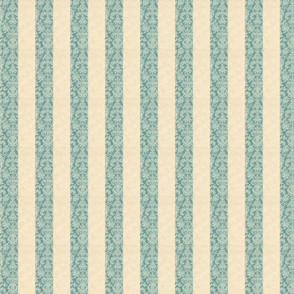 Damask Stripe Teal
