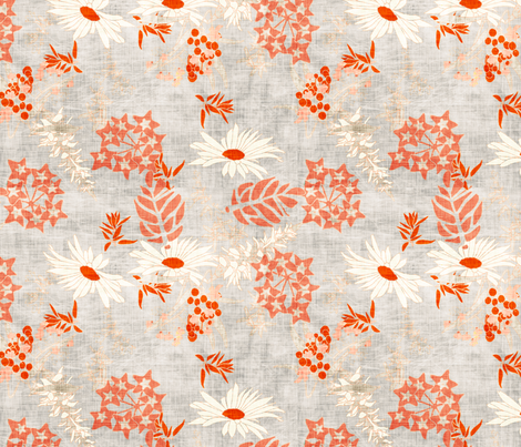 wildflowers fabric by holli_zollinger on Spoonflower - custom fabric