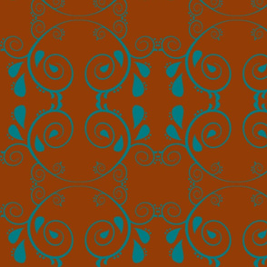 Abstract67-brown/blue