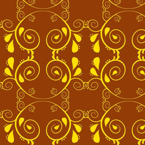 Abstract67-brown/yellow