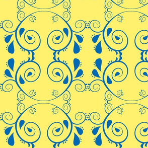 Abstract67-yellow/blue