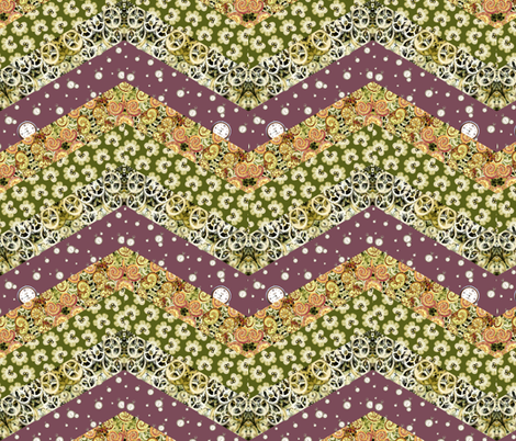 Big_Chevron by Sylvie fabric by house_of_heasman on Spoonflower - custom fabric