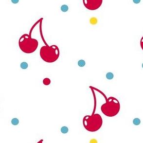 Cherry Cherry Dot! - Sweet Birds of Summer - Summer Party - © PinkSodaPop 4ComputerHeaven.com