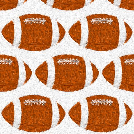 Expressionist__football lg fabric by dsa_designs on Spoonflower - custom fabric
