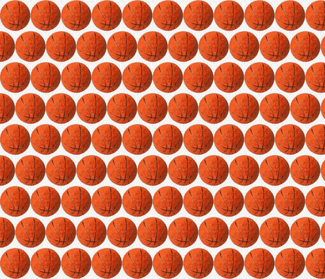 """Expressionist_of_basketball 2"""" fabric by dsa_designs on Spoonflower - custom fabric"""