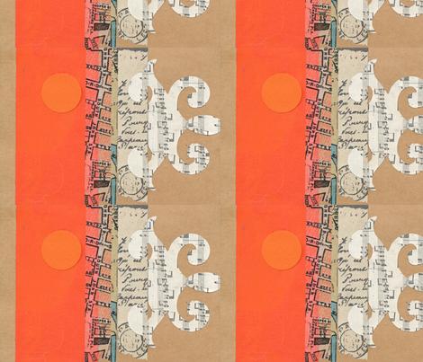 Orange Dream fabric by Acope123 on Spoonflower - custom fabric