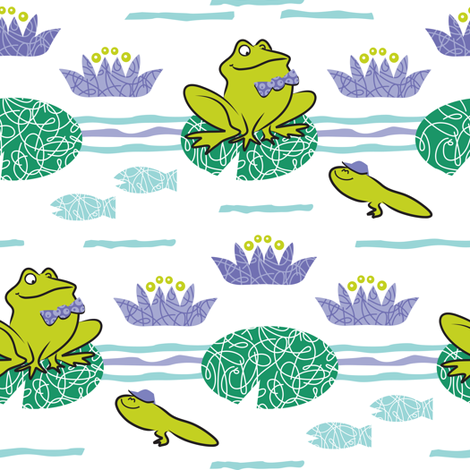 DAD and TAD  fabric by gitchyville_stitches on Spoonflower - custom fabric