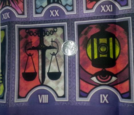 Persona 3 Tarot Deck Lilac