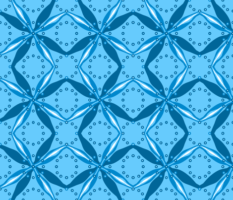 bowtie_grid_single_pinwheel_C fabric by khowardquilts on Spoonflower - custom fabric