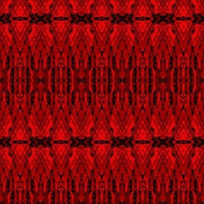 gradual red motif fabric