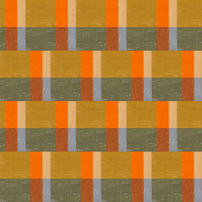 Gold and Orange with Grey