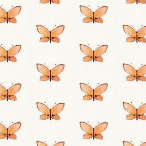 peach butterfly