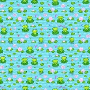 Little frogs in love