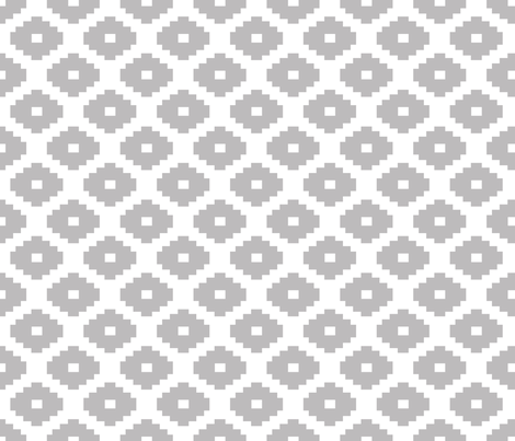 Aztec Chinchilla fabric by honey&fitz on Spoonflower - custom fabric
