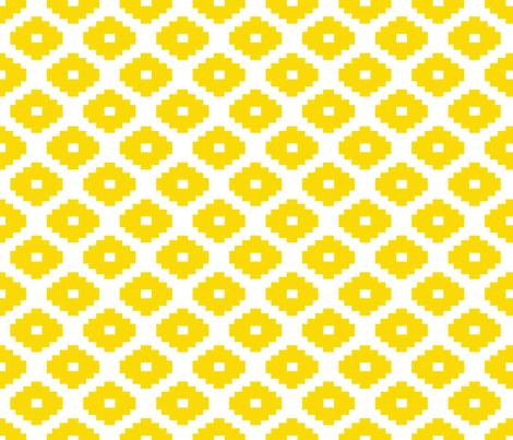 Aztec Sunshine fabric by honey&fitz on Spoonflower - custom fabric