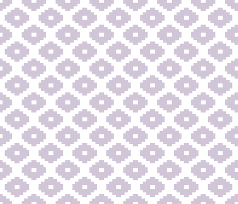 Aztec Wisteria fabric by honey&fitz on Spoonflower - custom fabric