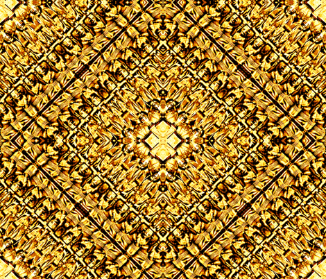 Golden Idols  fabric by whimzwhirled on Spoonflower - custom fabric