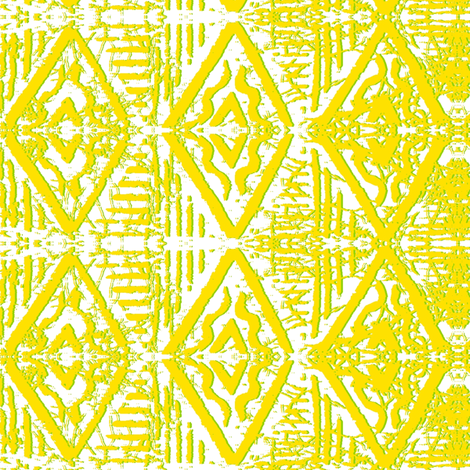Lemon_and lime_embossed fabric by house_of_heasman on Spoonflower - custom fabric