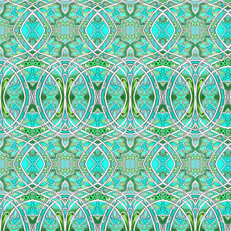 Loop the Loop fabric by edsel2084 on Spoonflower - custom fabric