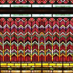 Chatham Church-Red Herringbone