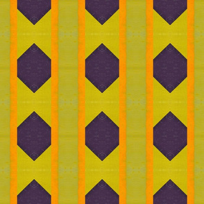 Purple and Orange with Green