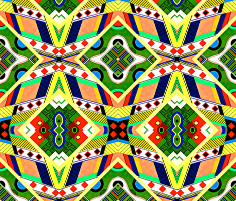 A trip to Funville fabric by whimzwhirled on Spoonflower - custom fabric