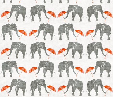 elephant_summer fabric by holli_zollinger on Spoonflower - custom fabric