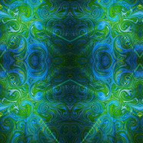 greenpaisley-mirror light burst