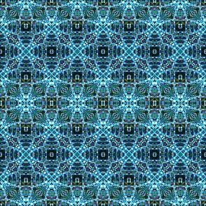 DNA Cross - Blue