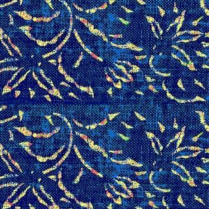 lilting lily - royal blue