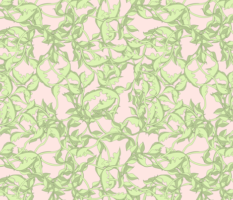 faery vines princess fabric by glimmericks on Spoonflower - custom fabric